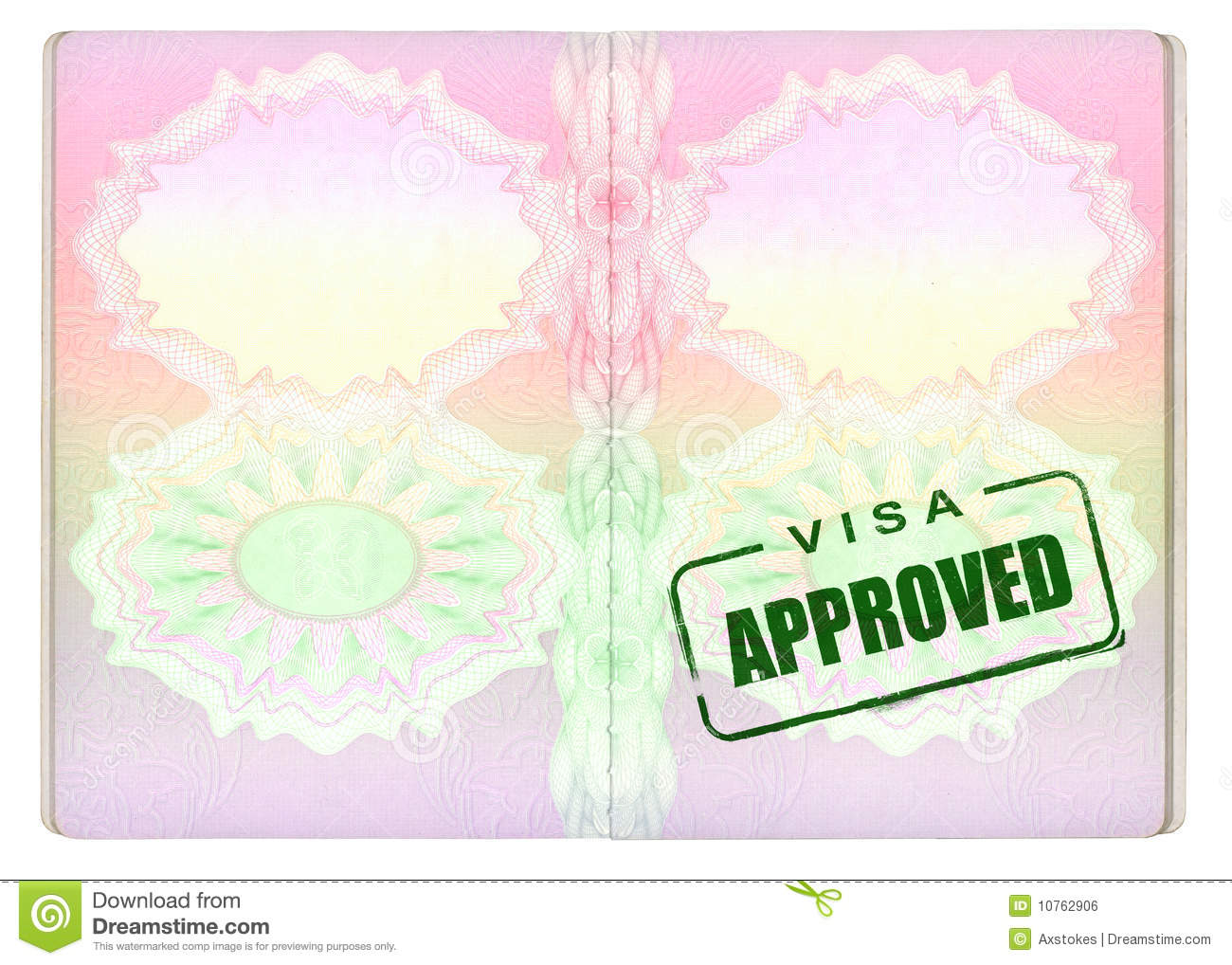 On panda free images. Passport clipart approved visa