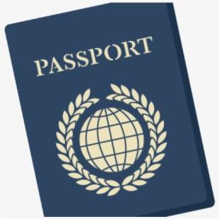 Passport clipart approved visa. Travel clip art along