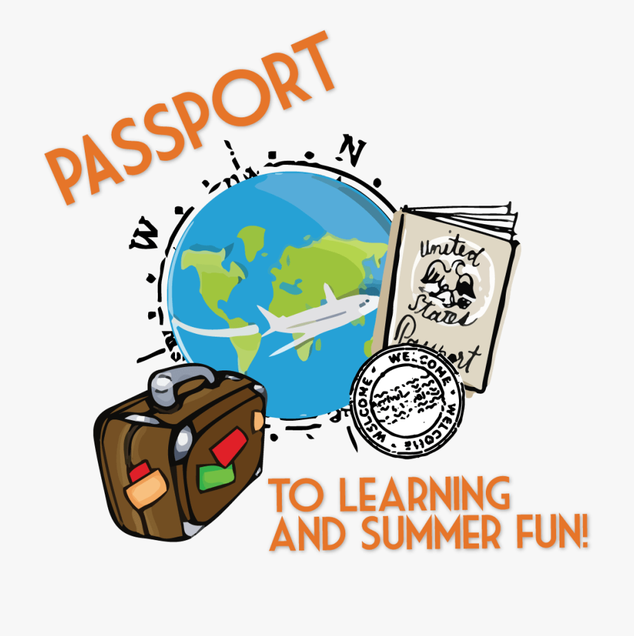 The time for making. Passport clipart learning