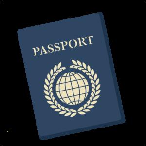 Travel vacation miss kate. Passport clipart passport page