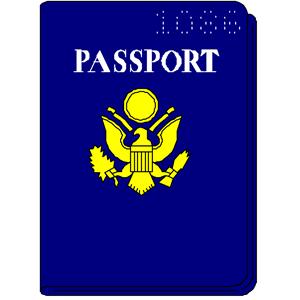 Passport clipart printable. Panda free images