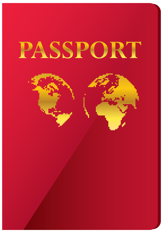 Passport clipart transparent background passport. Png clip art image