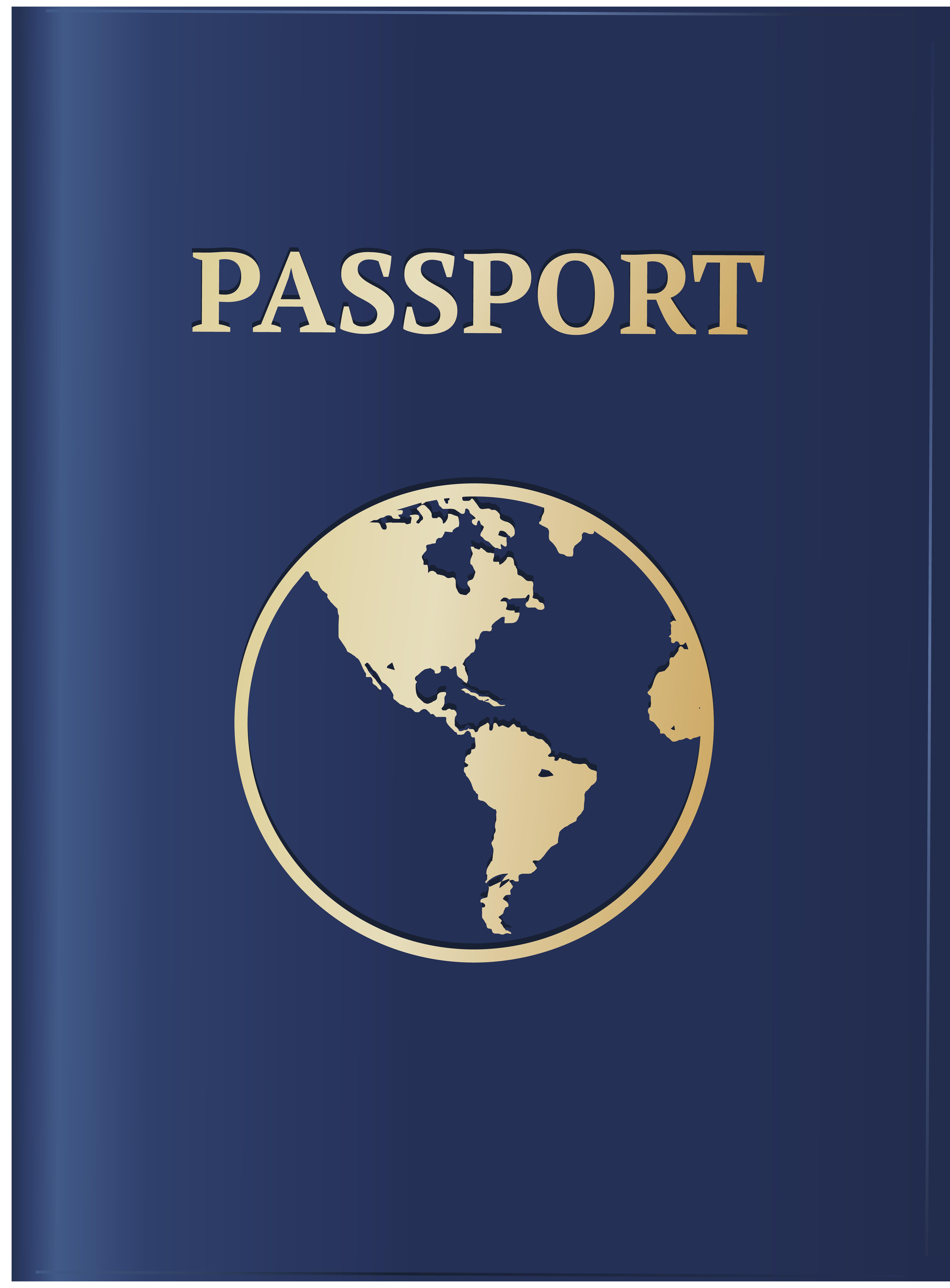 Blue png image gallery. Passport clipart transparent background passport