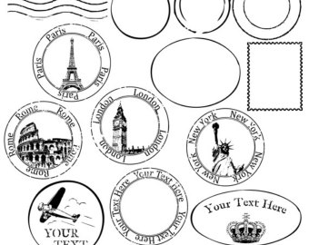 Free travel cliparts download. Passport clipart vintage