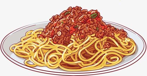 Food delicious noodles png. Pasta clipart