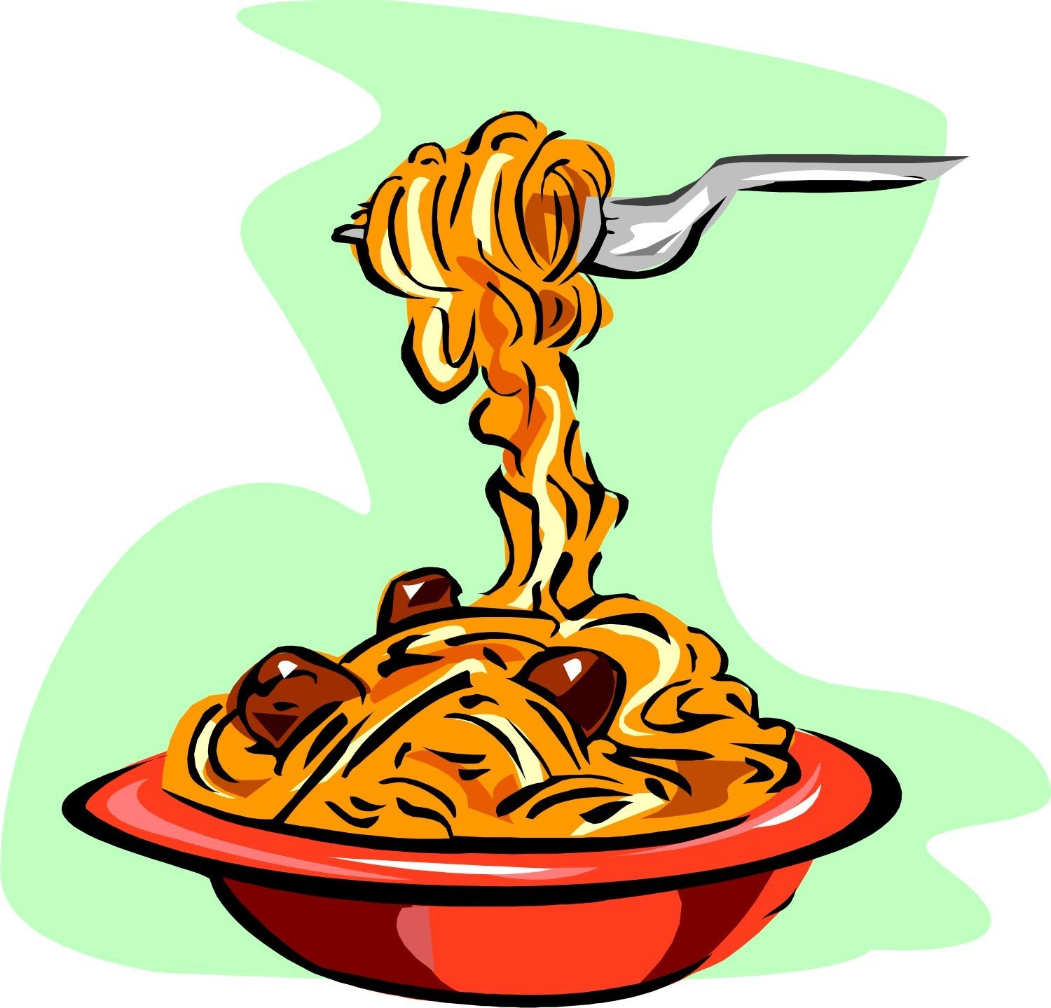 Pasta clipart. Spaghetti the cliparts databases