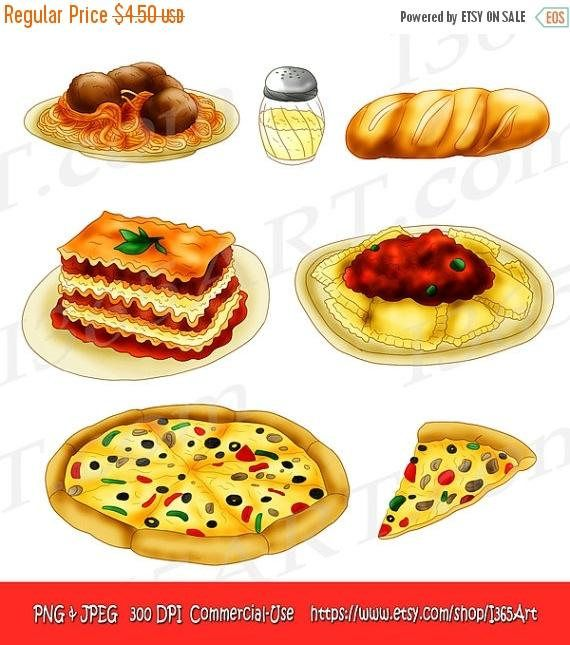 Pin by i art. Pasta clipart commercial