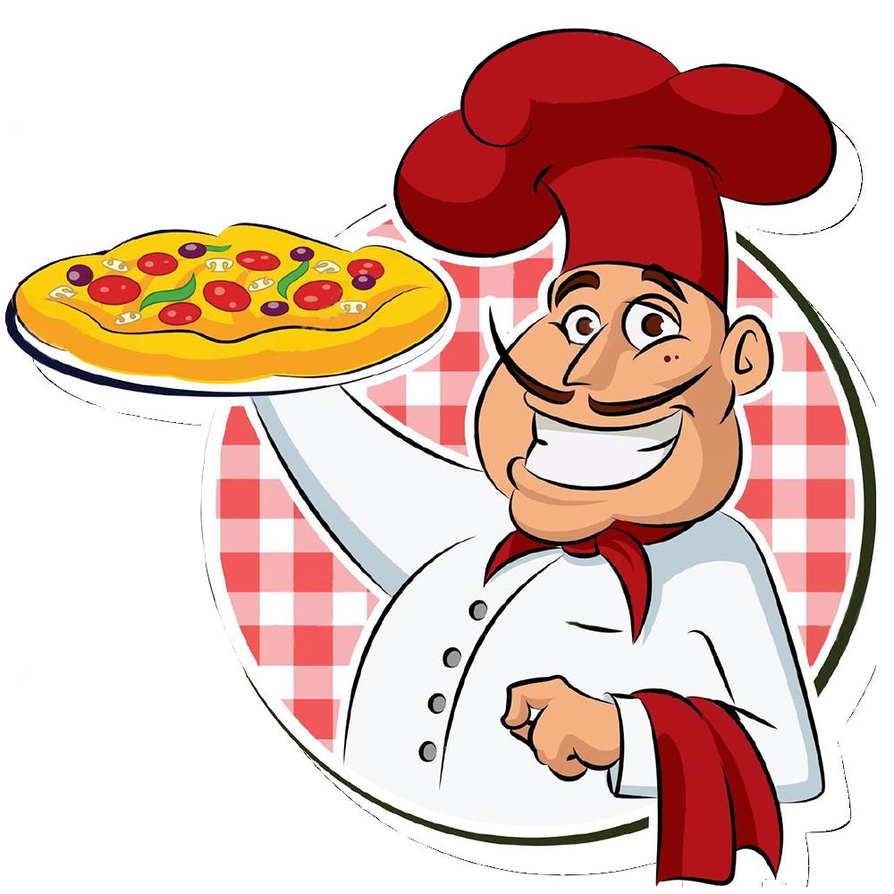 Pizza cuisine chef pan. Pasta clipart cooking italian