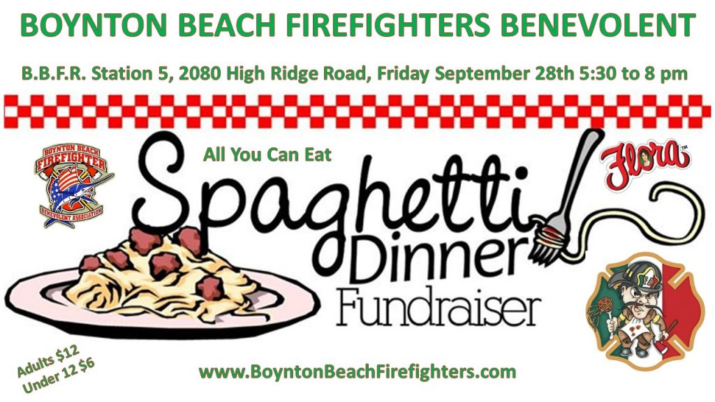 Boynton beach firefighters benevolent. Pasta clipart home cooked meal