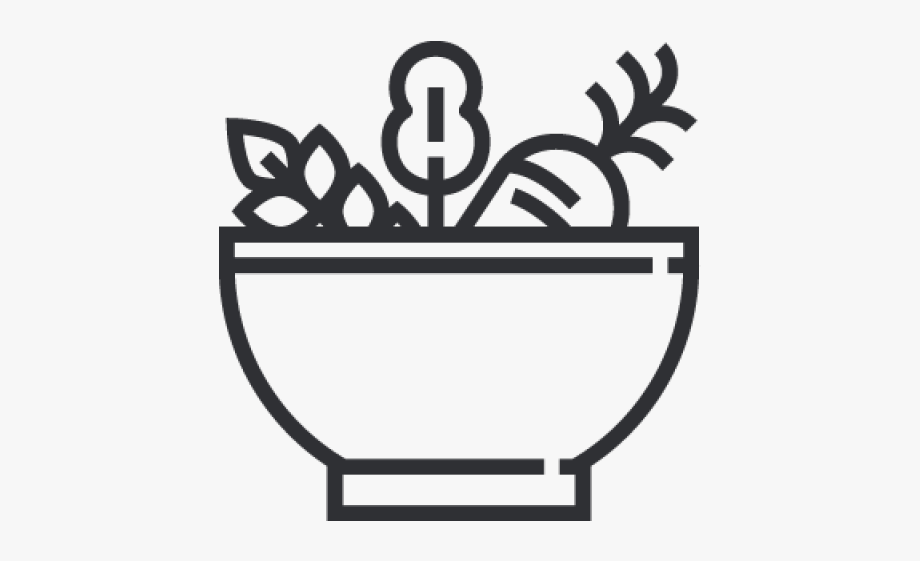 Healthy food bowl icon. Pasta clipart main dish