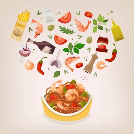 Pasta clipart main dish. Free download clip art