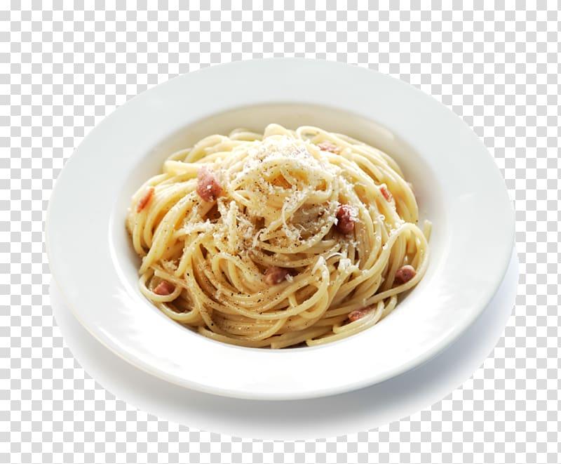 Pasta clipart pasta carbonara. Dish on plate italian