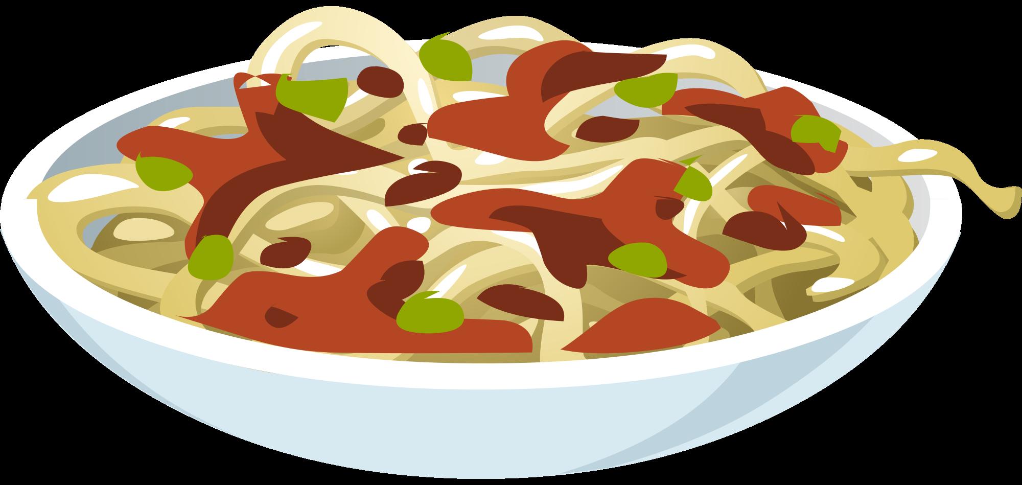 Pasta clipart pasta night. College living on campus