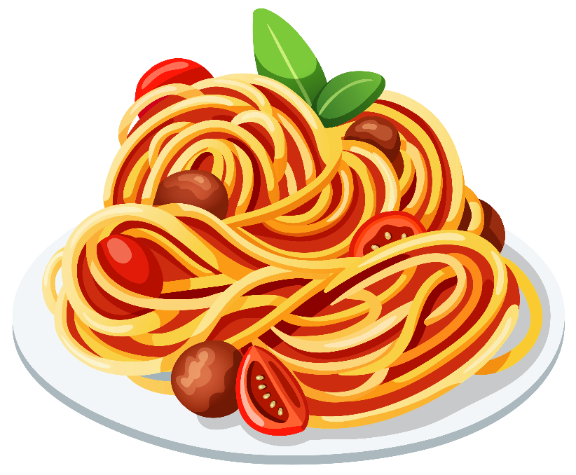 Pasta clipart spaghetti. Dinner collection home see
