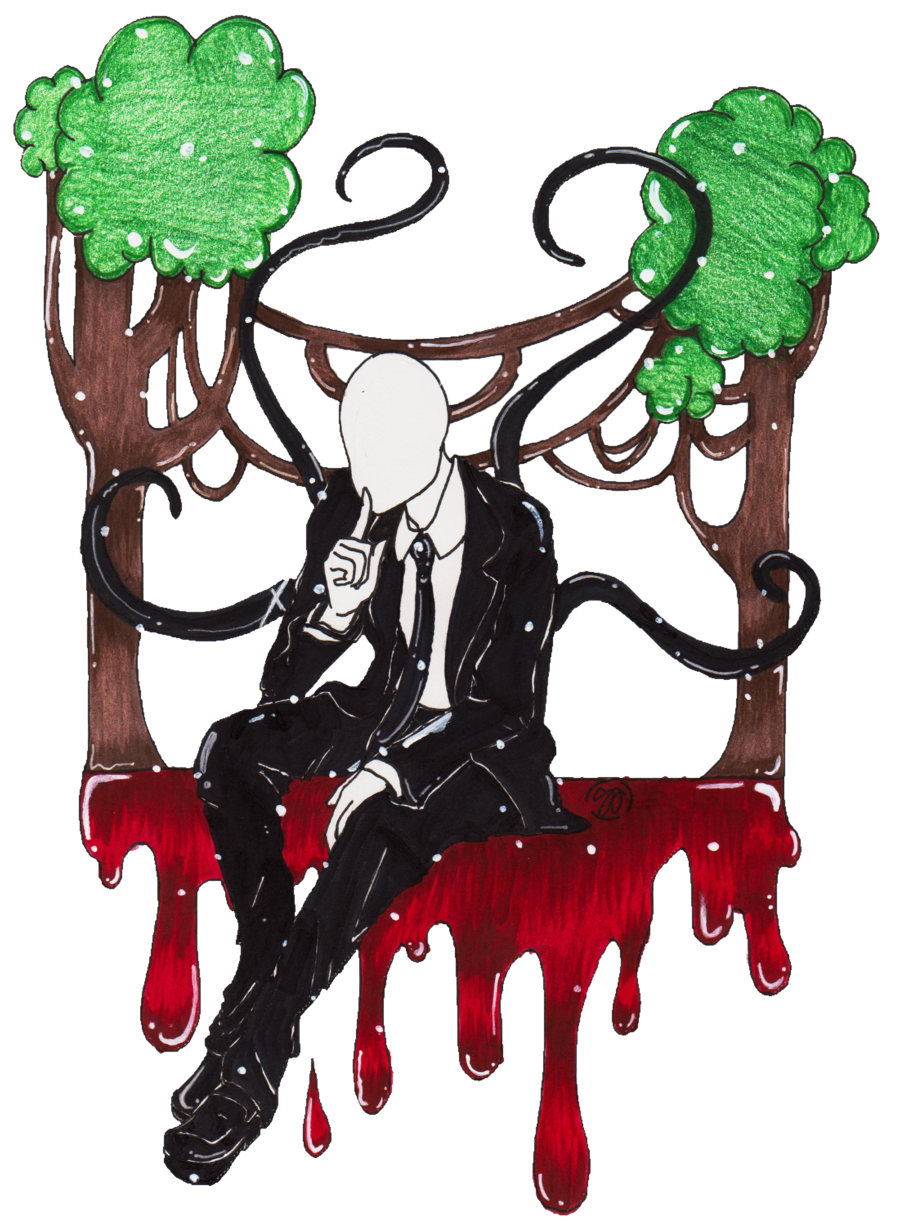 Slender man by patty. Tuna clipart tuna pasta