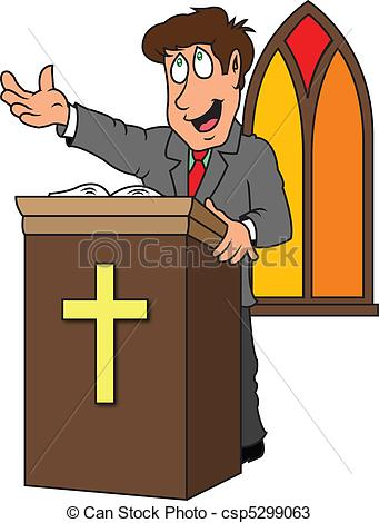 Pastor clipart. Church