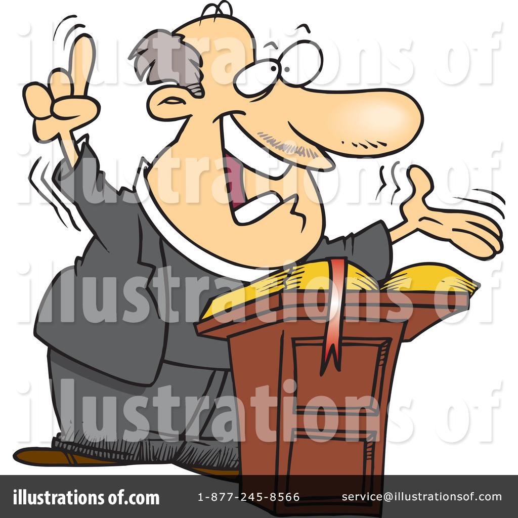 Pastor clipart. Illustration by toonaday royaltyfree