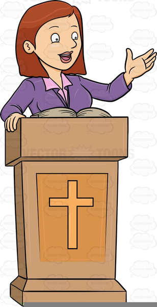 Pastor clipart. Female free images at