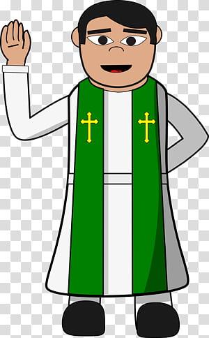 Pastor clipart children's. Preacher priest transparent background
