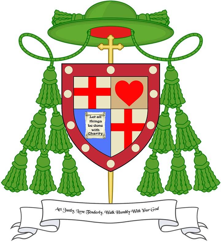 Our bishop and line. Pastor clipart cleric