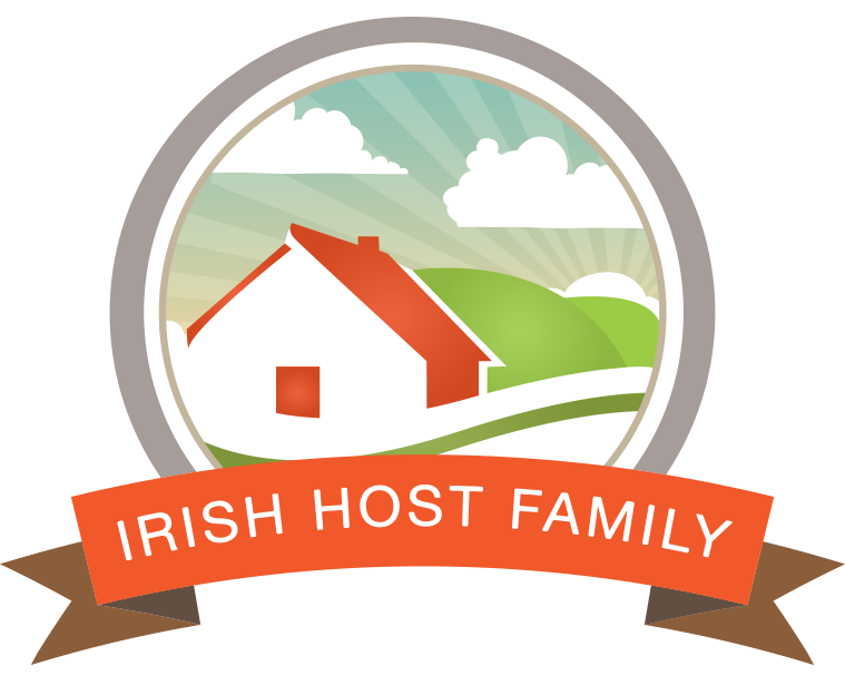 Irish famly learn english. Pastor clipart host family