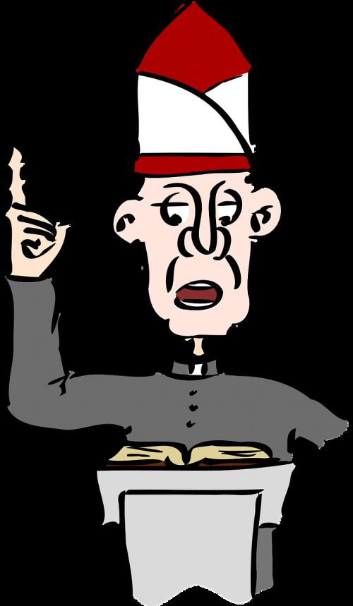 Pastor clipart vicar. Priest minister parish parson