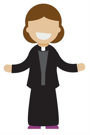 Parish share . Pastor clipart vicar