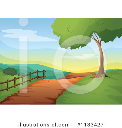 Path clipart. Illustration by graphics rf