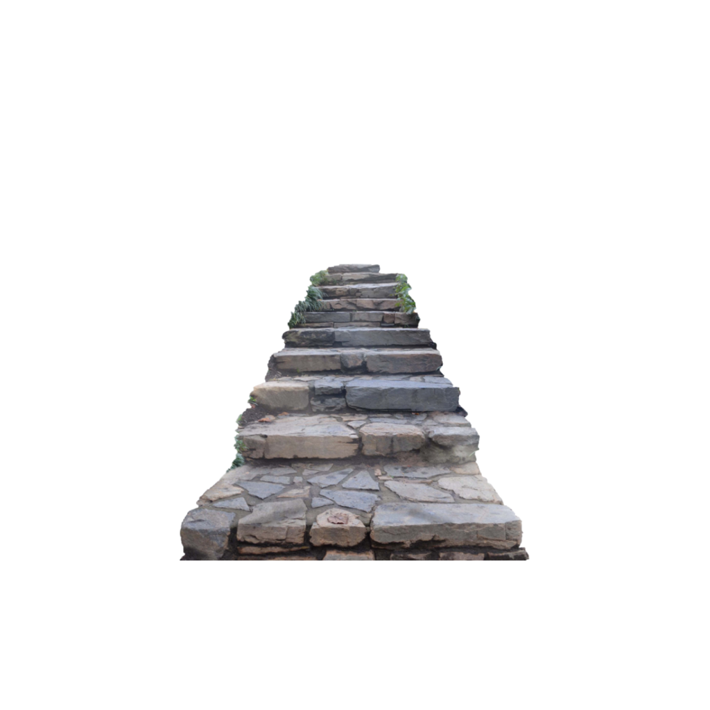 Pathway clipart stone step. Steps stairs path