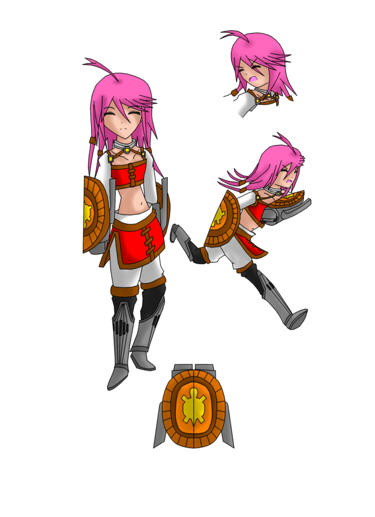 My elsword oc ling. Path clipart right path