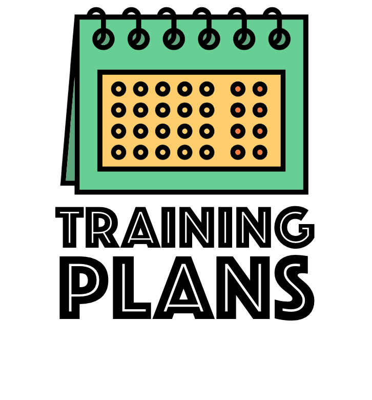 Marathon handbook trainingplans. Schedule clipart workout plan