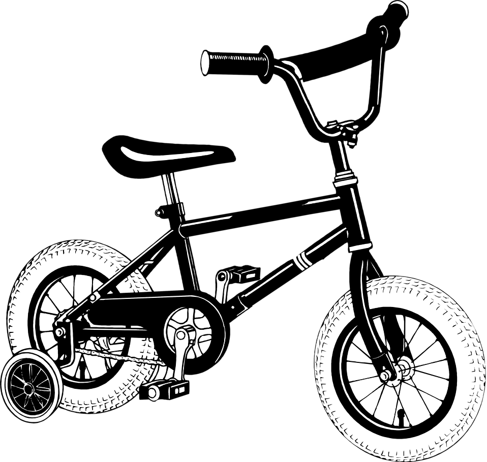 Bicycle free stock photo. Training clipart transparent