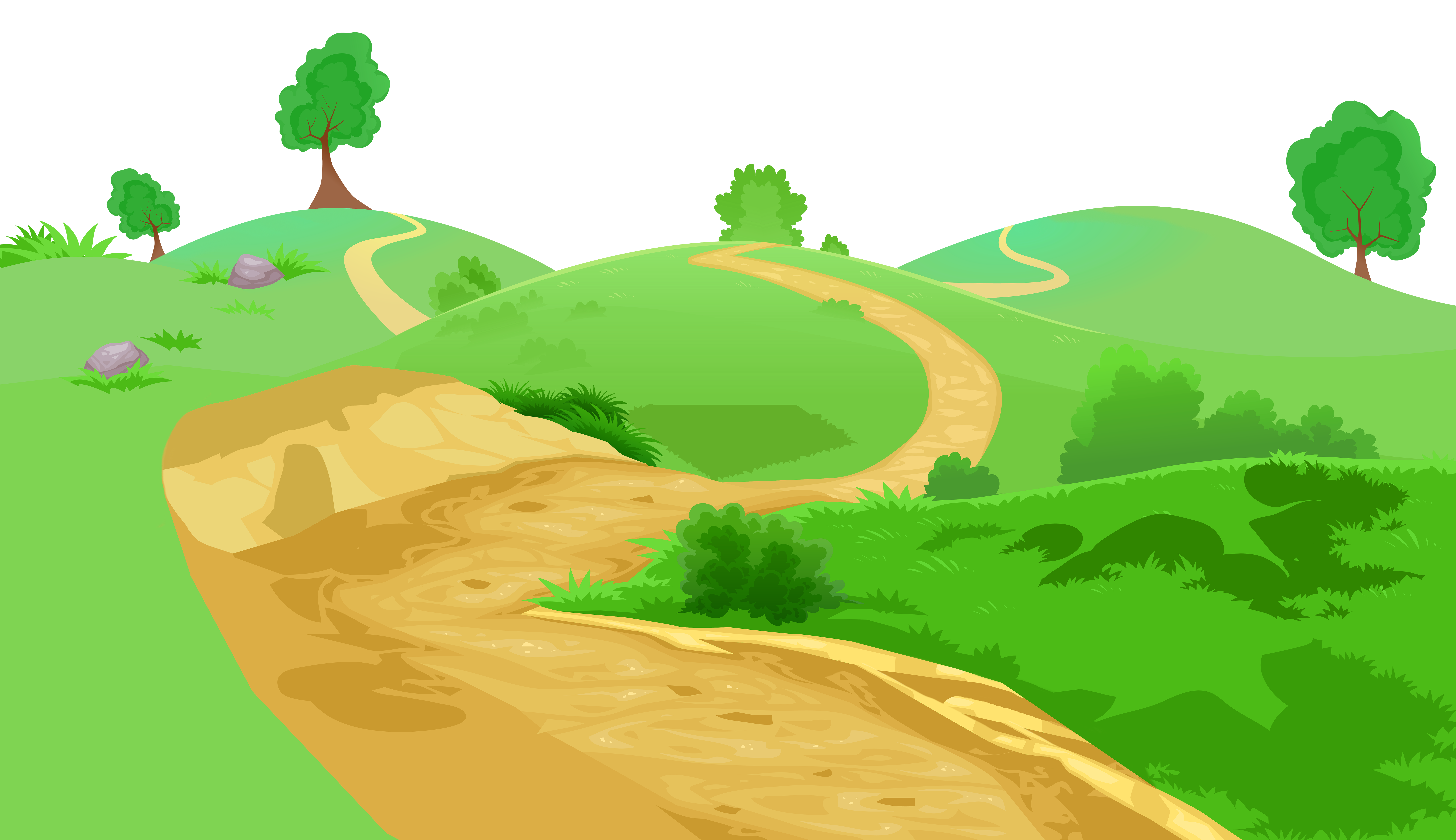 Pathway clipart. Grass and transparent png