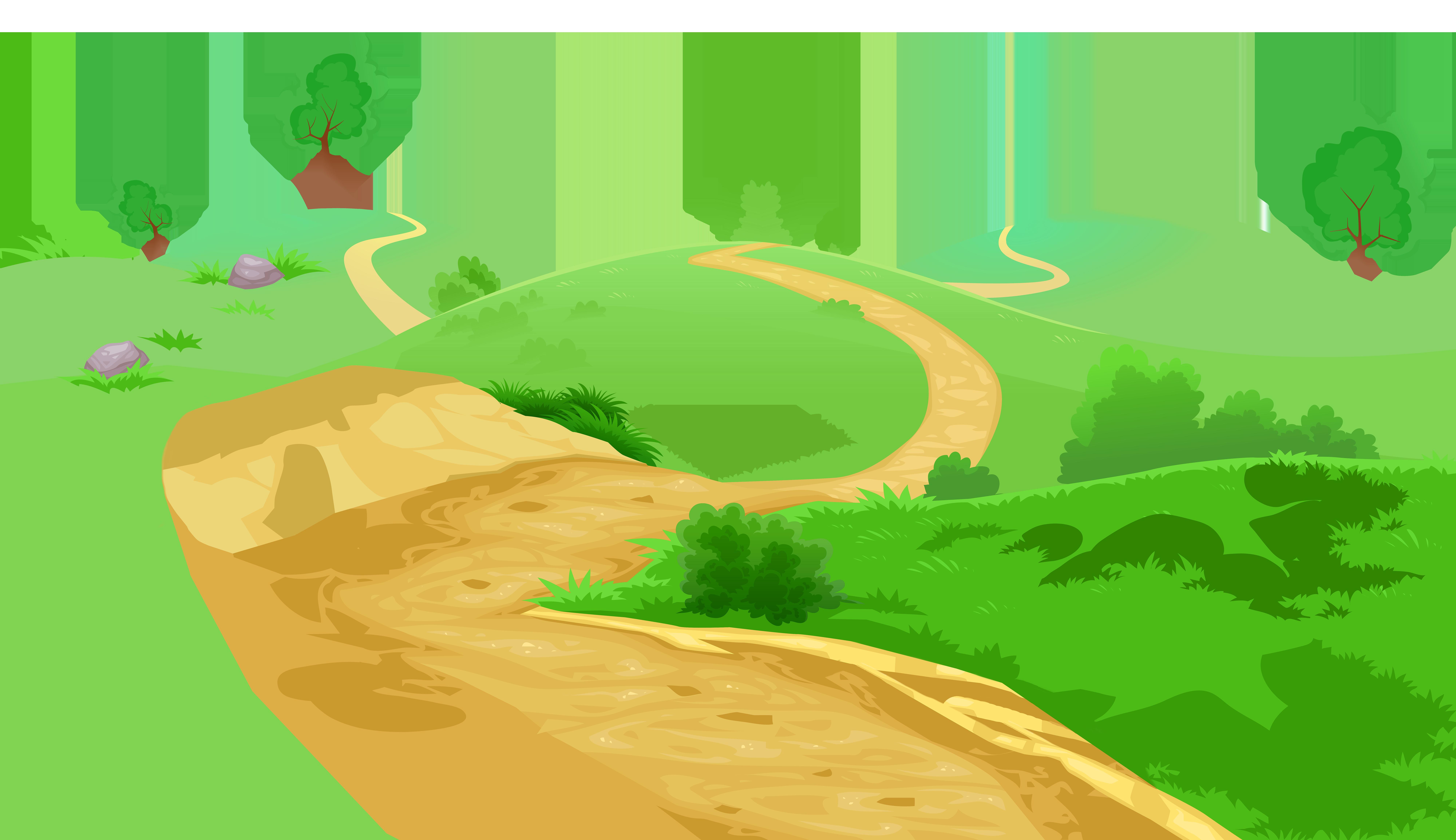 hill clipart cartoon