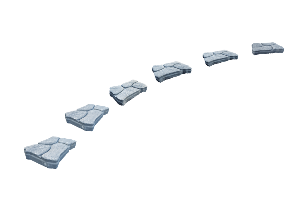 Pathway clipart cobblestone pathway. Stone path png stepping