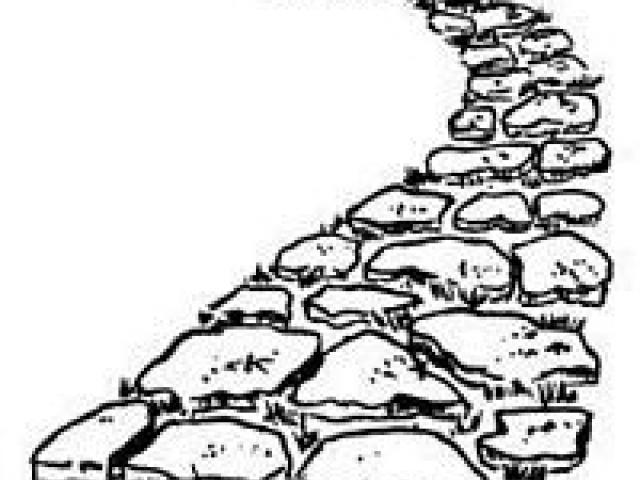 Pathway clipart cobblestone pathway. Free stone download clip