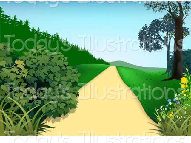Pathway clipart garden pathway. Free path download clip