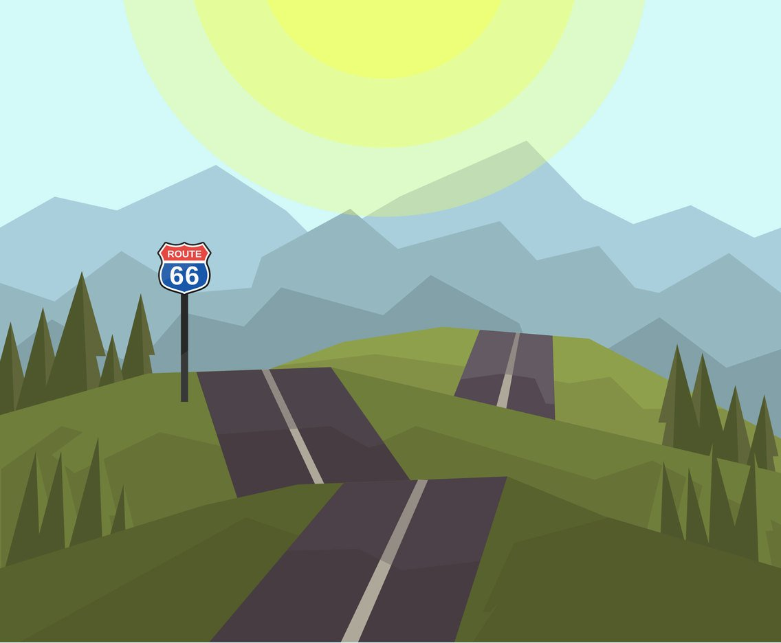 X free clip art. Pathway clipart hilly road