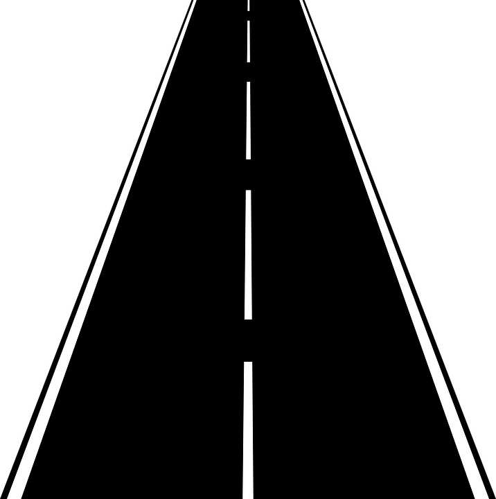 Pathway clipart path. Road high way png