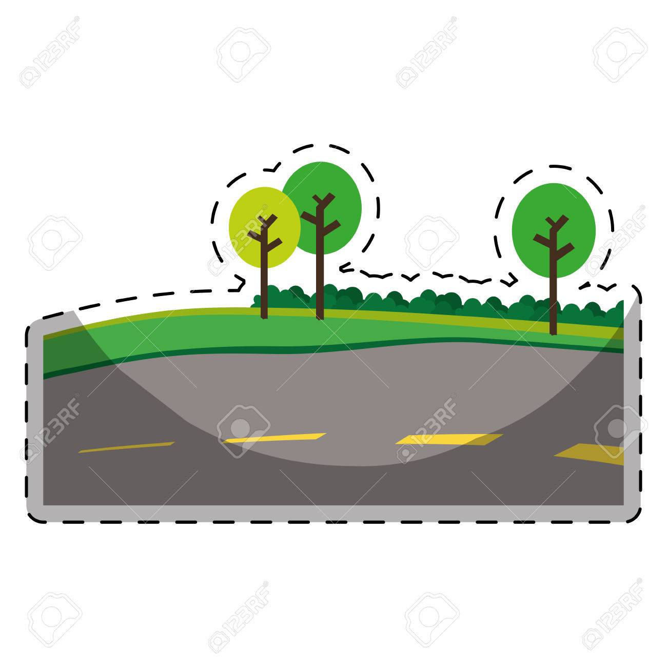 Pathway clipart paved road. Free download clip art