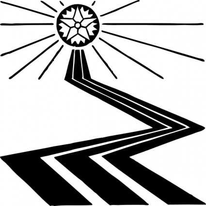 Free church path cliparts. Pathway clipart psalm 121