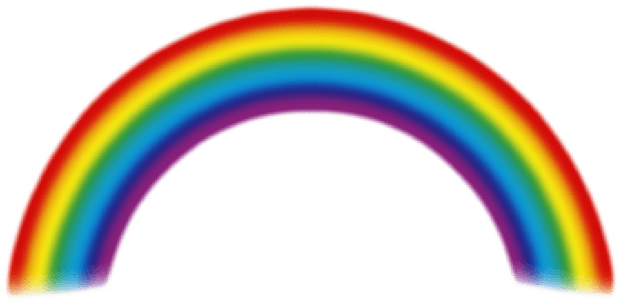 Pathway clipart rainbow. Download png image hq