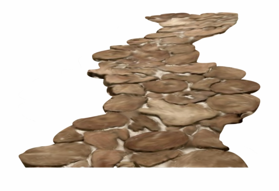 Pathway clipart stone path. Walkway rock png pngtube