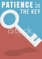 Patience clipart key. Poster stock vectors me