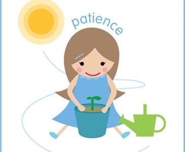 Are you a toluna. Patience clipart patient person