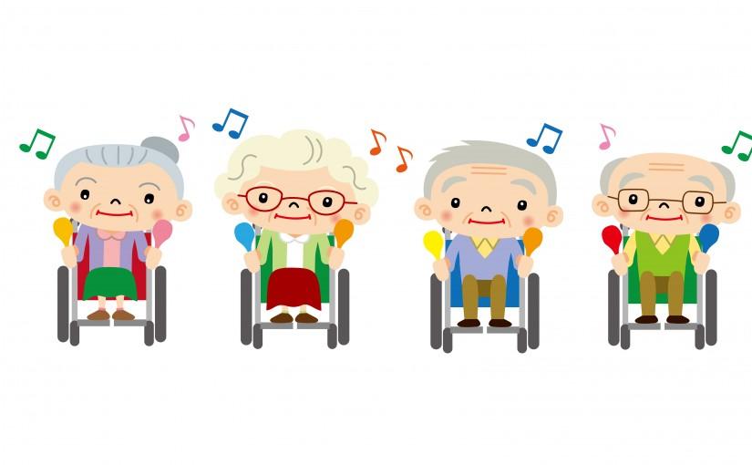 Music for patients towne. Patient clipart dementia care