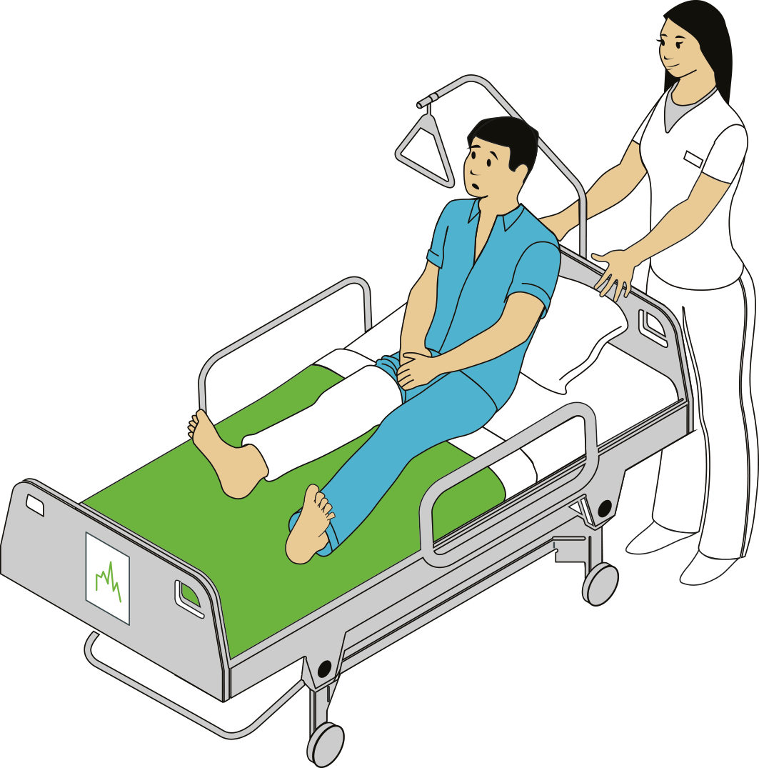Ceros inspire create share. Patient clipart hospital bed