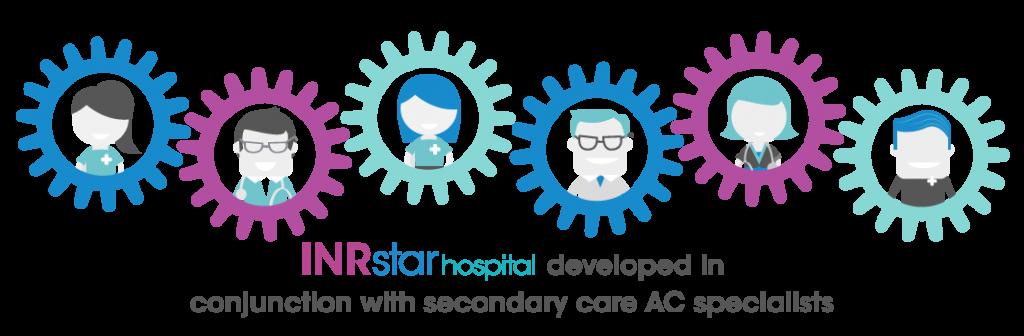 Inrstar anticoagulation cdss developed. Patient clipart hospital safety first