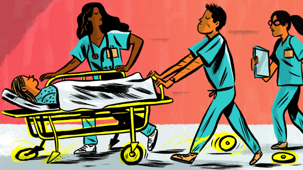 Doctors may learn bad. Patient clipart hospital safety first