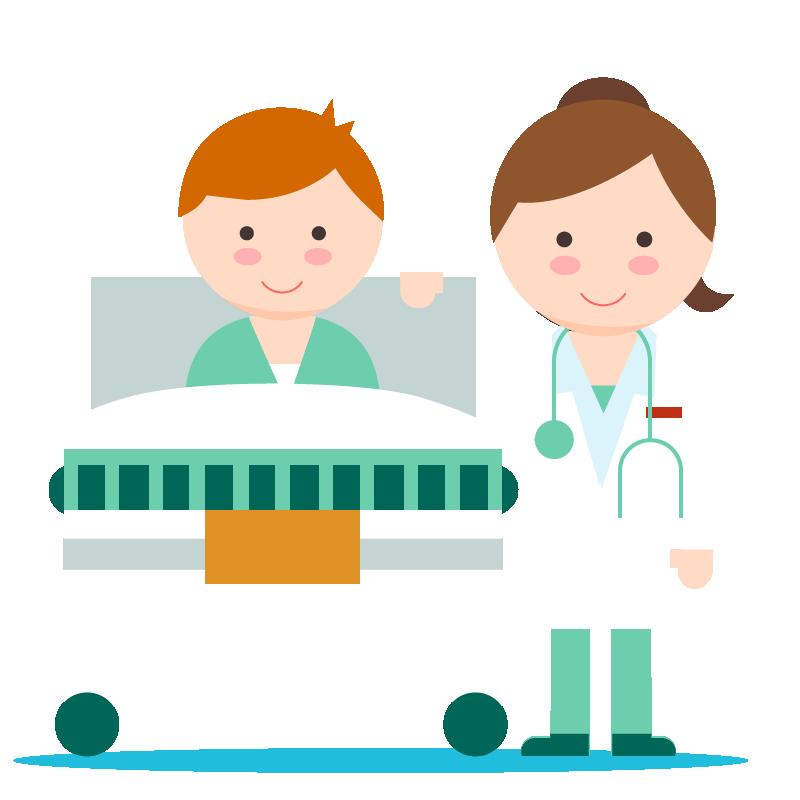 Patient clipart male patient. Clinic medicine hospitalized transprent
